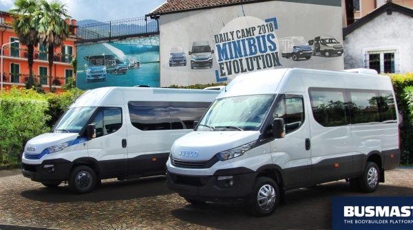 daily minibus v programu busmaster iveco bus. Black Bedroom Furniture Sets. Home Design Ideas